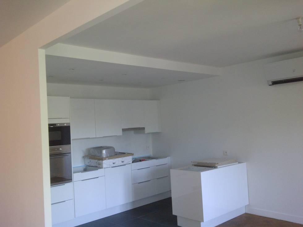 pose d'une cuisine neuve ikea dans un appartement à aix en ... - Installation Electrique D Une Cuisine